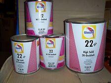 Glasurit 22 Line  22-M38   3.5 litre  HS Solid Colour Tinter    BASF