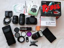 Canon EOS Rebel T4i /EOS 650D DSLR Camera , Lenses, Batteries and MORE