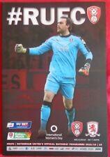 Middlesbrough Away Team Championship Football Programmes