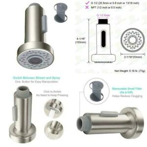 Aerator Spare Replacement Spray Head Kitchen Mixer Tap Faucet Pull Out Sprayer