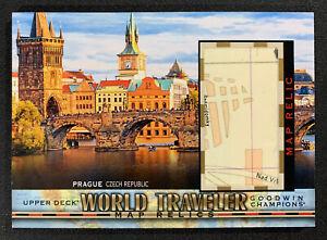 2018 Goodwin Champions Prague Czech Republic World Traveler Map Relics