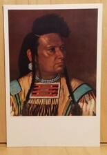 W22) Postcard CHIEF JOSEPH