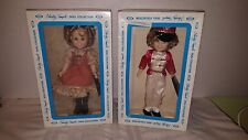 2 Vtg Ideal Shirley Temple NIB Suzannah Of the Mounties, Poor Little Rich 12 in