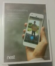 New Sealed Nest Hello Smart Wi-Fi Video Doorbell NC5100US. Wired.