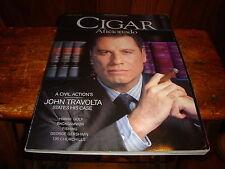 Cigar Aficionado Magazine John Travolta February 1999