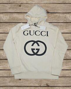 Gucci Hooded Oversized Sweatshirt Gucci Interlocking G For Men Size S