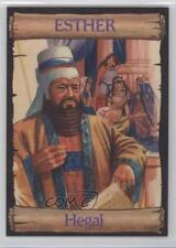 1989 re-Ed Bible Cards Esther #4 Hegai Non-Sports Card 0q3