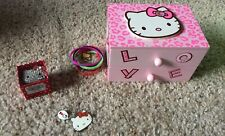 Sanrio Hello Kitty Jewelry Lot Necklace Ring Bracelets Box New Robot Bling