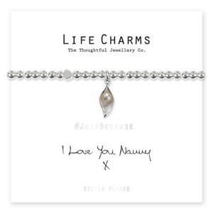 Life Charms I Love You Nanny Bracelet