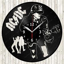 AC/DC Music Vinyl Record Wall Clock Decor Handmade 1867