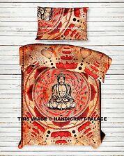 Lord Buddha Baumwolle Indisch Bettdecke Bettwäsche Handgefertigt Ethnische Wurf