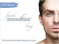 FACIAL SMOOTHIES LONG, 36 Wrinkle Remover Patches for Forehead