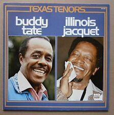 LP Buddy Tate, Illinois Jacquet -  Texas Tenors Holland Riff Jazz 1977 Nm Vinyl