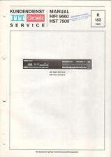 ITT GRAETZ - HIFI 9660 HST 7500 - Service Manual Schaltplan - B6513