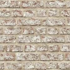 Arthouse Rustic Brick Pattern Painted Stone Wall Effect Wallpaper