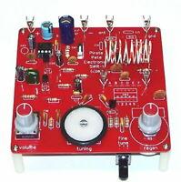 DELUXE radio shack science fair p-box transistor shortwave receiver UNBUILT kit