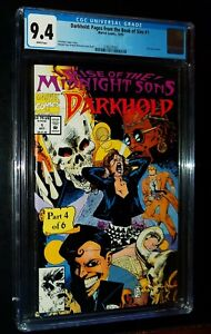 DARKHOLD: PAGES FROM THE BOOK OF SINS #1 1992 Marvel Comics CGC 9.4 NM