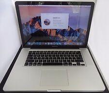 "Apple MacBook Pro 15"" Late 2011 Intel Core i7 2.4GHz 8GB 1TB HD Model A1286"