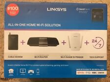 NEW Linksys F5Z0644 Cable Modem & AC1600 WiFi Router & Extender (Sealed Box)