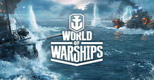 World of Warships EU account TIER X Ships