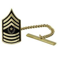 US Army Tie Tac Tie Tack Command Sergeant Major (Made in USA)