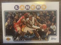 2008-09 Topps Kobe Bryant w/ Lebron James #24 Iconic Card.