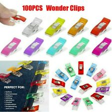 100 Home Office Supply Binding Clamps Garment Clip Patchwork Fabric Sewing Clips