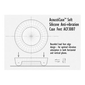PQ218 AcoustiFeet Firm Anti-Vibration Feet ACF3007-30B Acousti