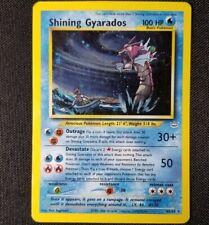 Shining Gyarados 65/64 Neo Revelation Holo Foil Rare Pokemon Card