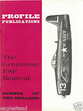 Aircraft Monograph - Grumman - F8F Bearcat - Profile Facts Summary (MN85)