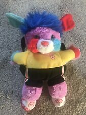 Good Used Condition Vintage 1986 Plush Popples Soccer Stuffed Animal Collectible