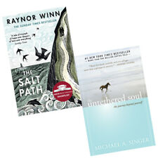 Untethered Soul The Journey,Salt Path The Sunday 2 Books Collection Set Paperbac