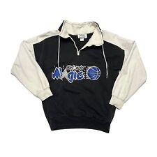 Vintage Orlando Magic Pullover Sweater Adult Size XS Black White 004