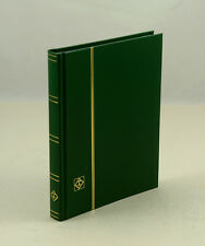 """Lighthouse 32 Pg. Hardcover Stockbook (6 1/2"""" X9"""") Green - LS2/16  Free Shipping"""