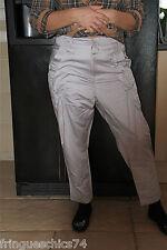 pantalones anchos con encaje MARITHé FRANÇOIS GIRBAUD T 30 (40) NUEVO ETIQUETA