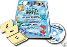 Living Israeli Hebrew- Book for the Very Beginner