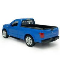 1:36 Ford F-150 Pickup Truck Model Car Diecast Toy Vehicle Gift Blue Collection