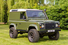 Land Rover Defender 90 200 TDI professionally rebuilt on galvanised chassis