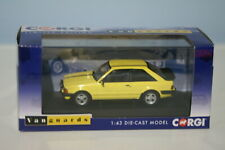 Vanguards Ford Escort Mk3 XR3 Hatch Yellow VA11011 1:43 Scale