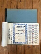 100 (book) x LA TECHNOLOGIE for 1€ ?