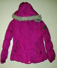 Girls Coat Size 14/16 Static