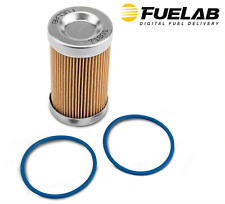 "Fuelab 10 MICRON ELEMENT FOR ORB-10 3"" FUEL FILTERS #71801"