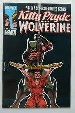 New listing Kitty Pryde And Wolverine # 4 Vf 8.0 Marvel 1984