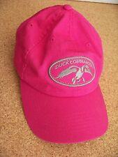 Duck Commander pink baseball cap hat adult adjustable Happy Happy Happy (back)