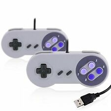 2x USB SNES gamepad / controller for PC / Notebook / Tablet | Retro desig