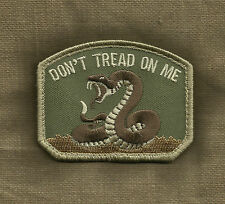 DON'T TREAD ON ME MULTICAM DTOM TACTICAL COMBAT HOOK BADGE MILITARY MORALE PATCH