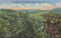 Postcard View From Monte Sano  State Park Huntsville Alabama