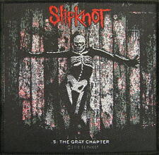 "Slipknot patch/écusson # 40"" 5: the gray chapter"""