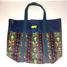 Masters Golf Large Canvas Tote Bag