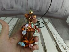 disney Winnie Pooh tigger tiger glass ornament tree xmas holiday